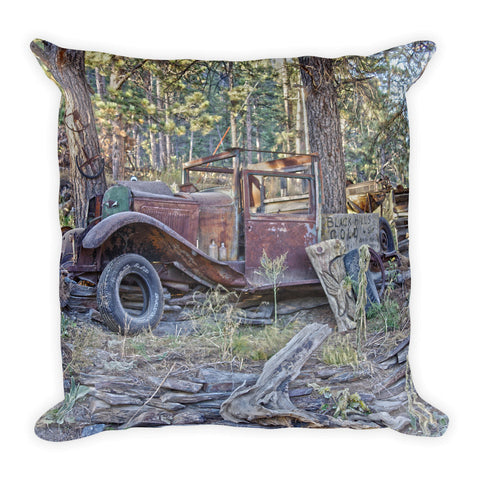Black Hills Gold Throw Pillow