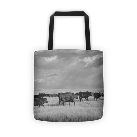 Blazing the Afternoon Trails Tote bag