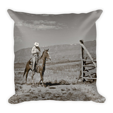 Those Wild Montana Skies Throw Pillow
