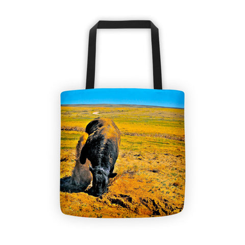 Saturated Sand Wave Tote bag