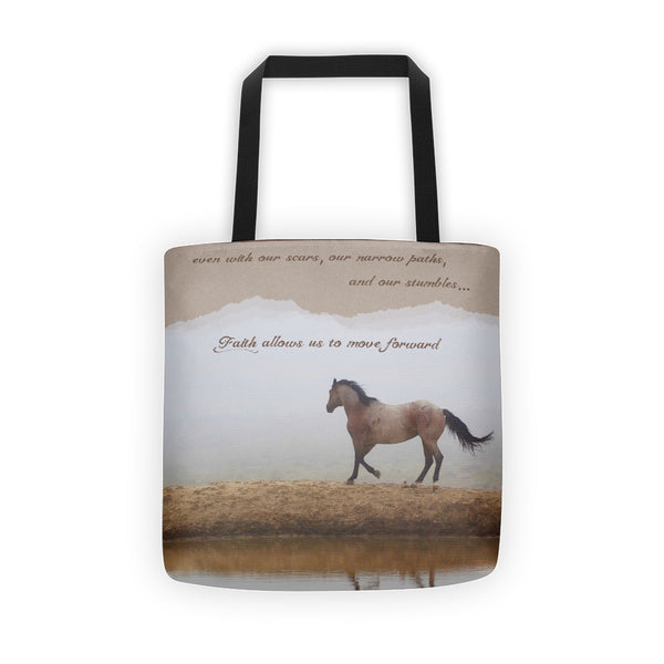 Mystical Beauty Inspirational Tote bag