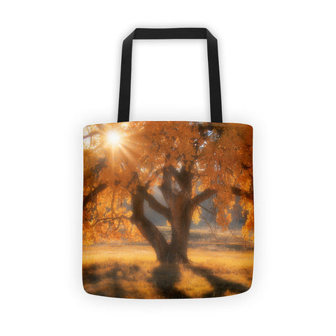 Boxelders Autumn Tree Tote bag