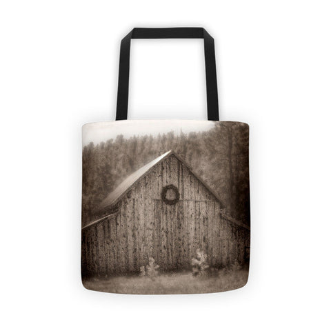 First Snow in November Tote bag