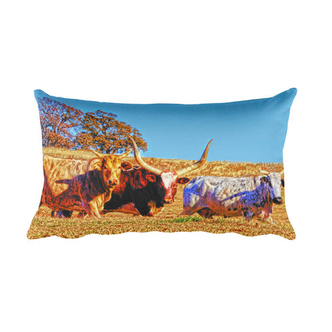 Toro Tres Rectangular Pillow