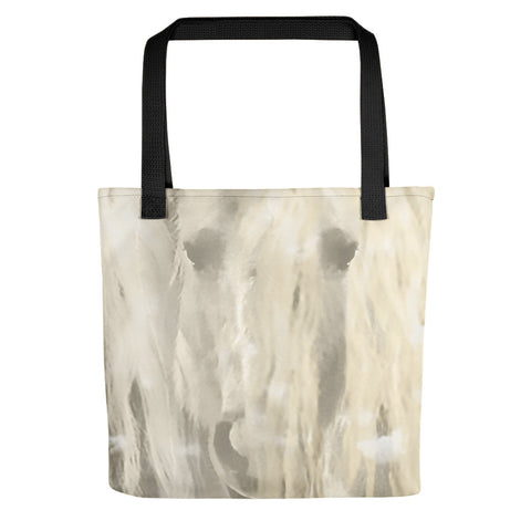 Winter's Reflection Tote bag