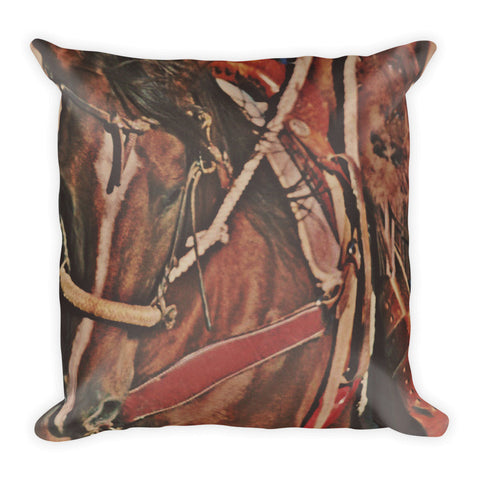 Cotton Rope and Bosal Throw Pillow