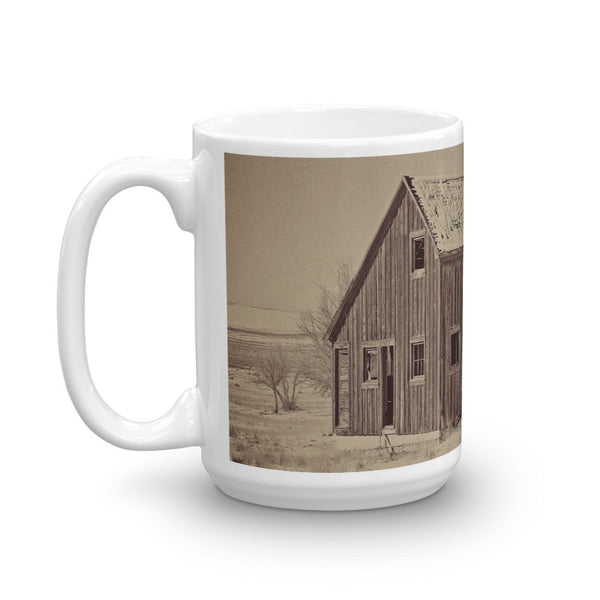 Old Wood Reed's Place Mug