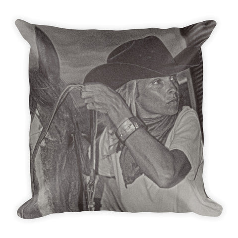 That Cowgirl Within Throw Pillow