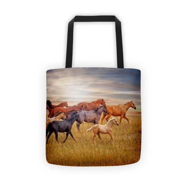 Last Light's Run Tote bag