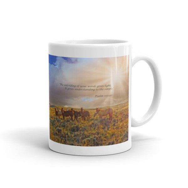 Led by the Light Inspirational Mug