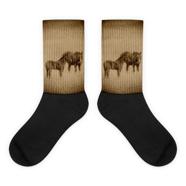 That Wild Thing Called Beautiful Black - foot socks