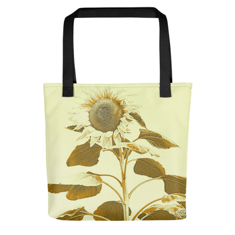 Golden Rayed Tote bag