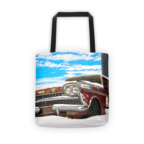 Snow on the Ambassador Tote bag