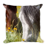 Autumn's Graze Throw Pillow