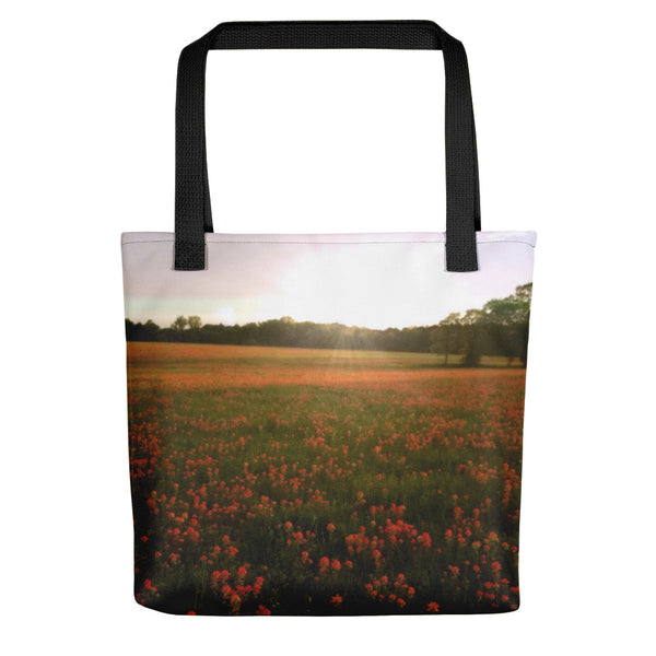 Paintbrush on Gods Canvas Tote bag