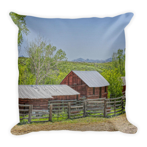 Boxelder Drive Throw Pillow