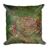 Patriot In The Making Throw Pillow