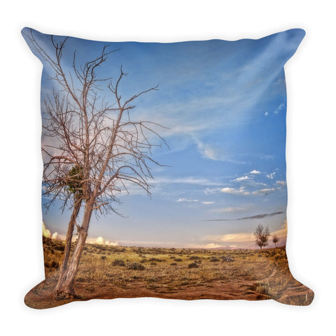 Wyoming High Desert Beauty Throw Pillow