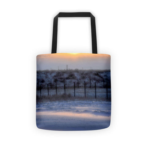 Early Morning Winter Tote bag