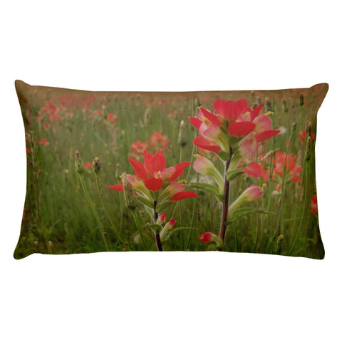 Prairie Fire Rectangular Pillow