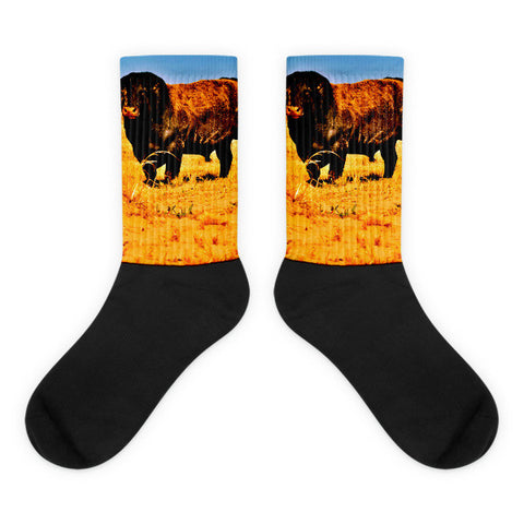 Bring It - Black foot socks