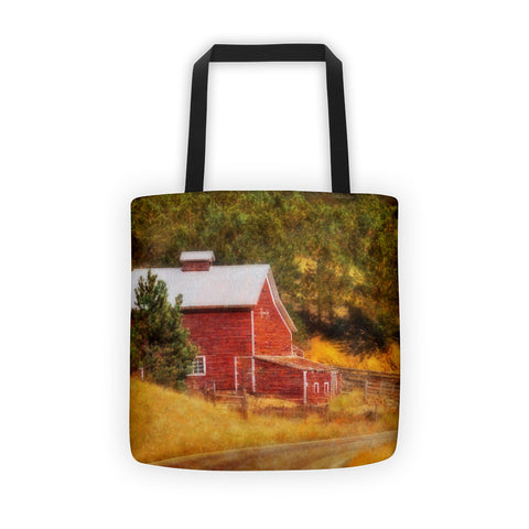 Autumn's Black Hills Barn Tote bag