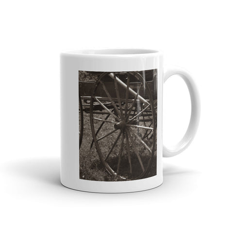Wagon and Wheel Mug