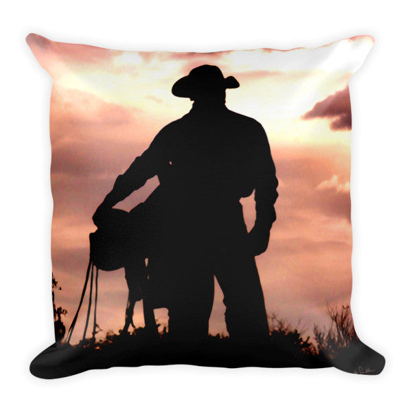 Leaving Wickenburg Throw Pillow