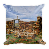 Rock Hills Prairie Throw Pillow