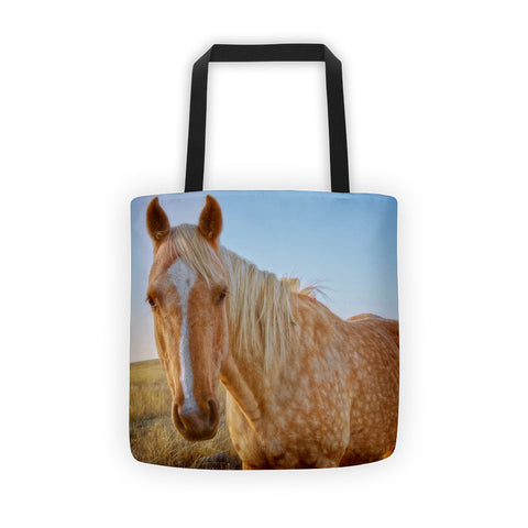 Raising Dapple Tote bag