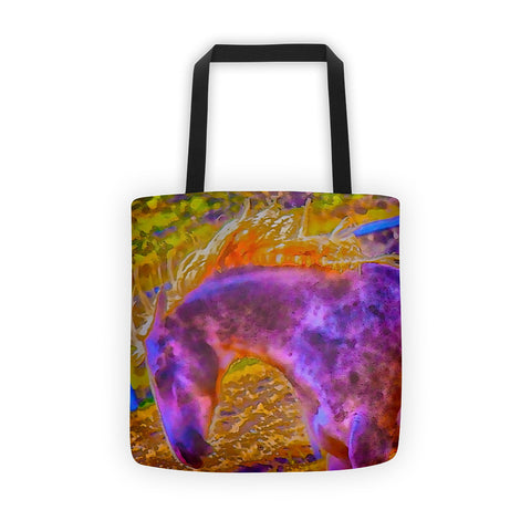 Colors in Sync Tote Bag