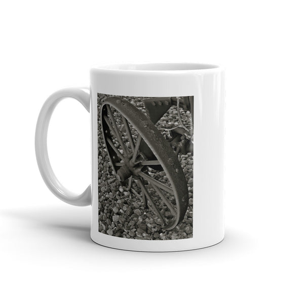 Wagon Wheel on Ice Mug
