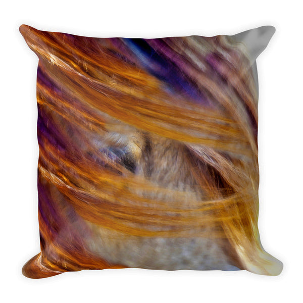 Alice in Ponyland Throw Pillow