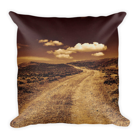 Long Way to Tipperary Throw Pillow