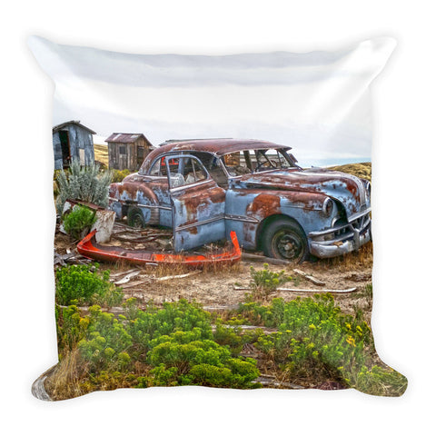 Homestead and Pontiac Throw Pillow
