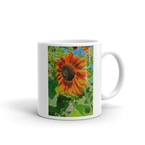 Sun Shower Sunflower Mug
