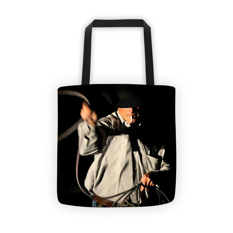 Ropin' Smoke Tote bag