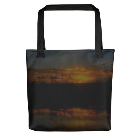 Reservoir At Sunset Tote bag