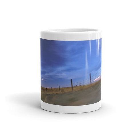 Running the Fenceline Mug