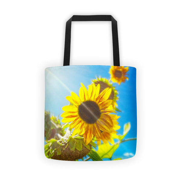 Sunflower and Sunlight Tote bag