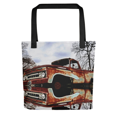 Parked on the Edge of Time Tote bag