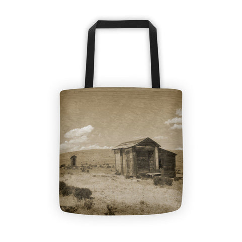 Out on the Prairie Tote bag