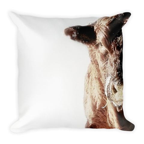 Power and Ice Throw Pillow