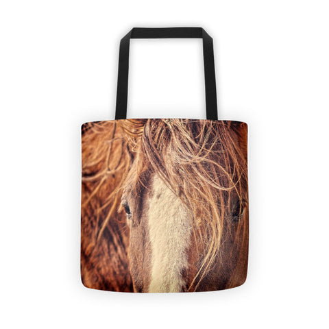 Rustic Eyes Tote bag