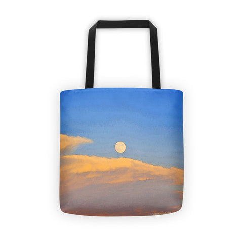 Wyoming Super Moon Tote bag