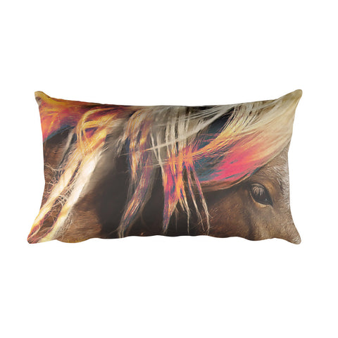 Color in Oz Rectangular Pillow