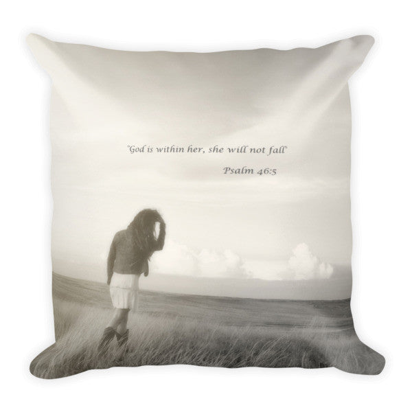 After the Storm Inspirational Throw Pillow