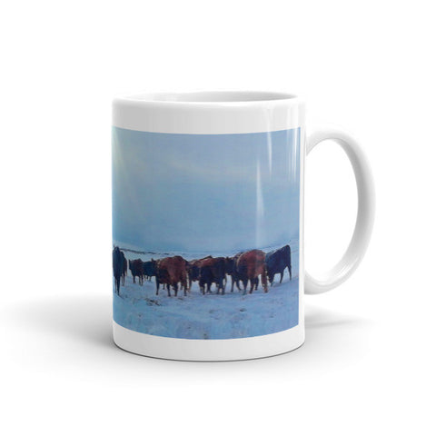 Wyoming Winter Push Mug