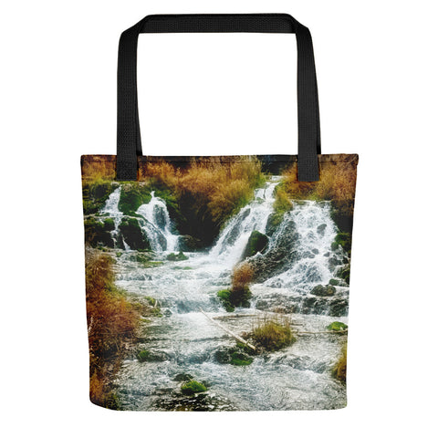 Autumn at Roughlock Falls Tote bag