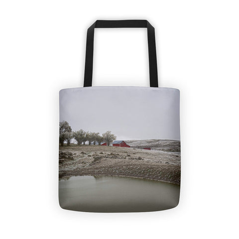 Early Wyoming Winter Tote bag